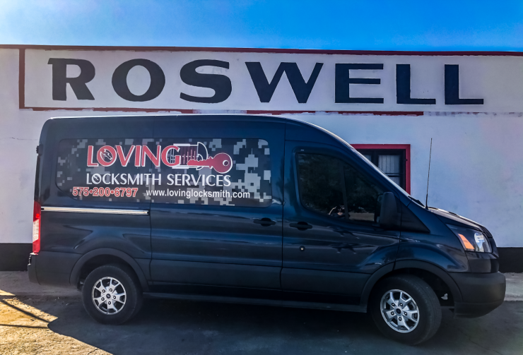 Roswell New Mexico Van